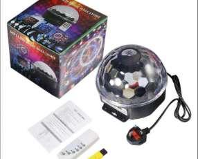 Speaker mp3 usb magic ball led luces de discoteca