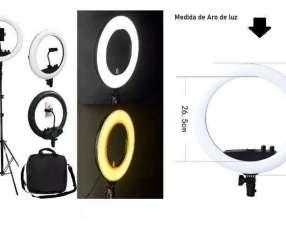 Aro de luz de 35 cm