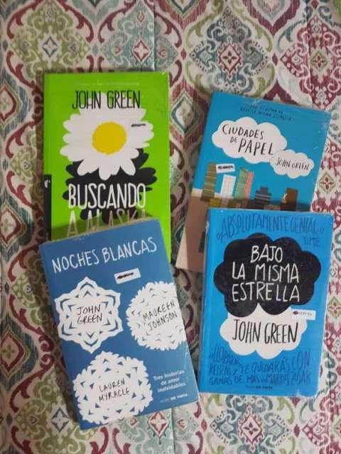 Libros John Green nuevos