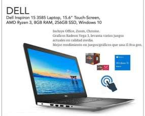 Notebook Dell Inspiron 15 pulgadas Touch 8 gb/256 gb