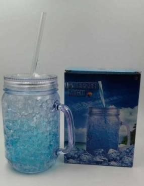 Vaso con gel 500 ml