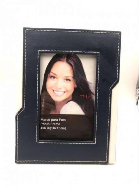 Porta retrato cuerina 10x15 cm - 1