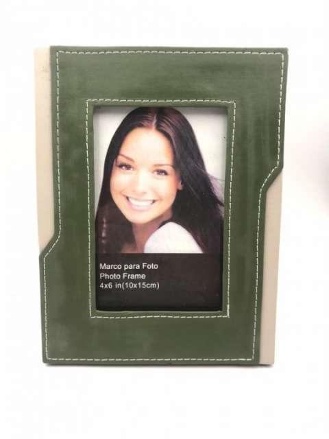 Porta retrato cuerina 10x15 cm - 2