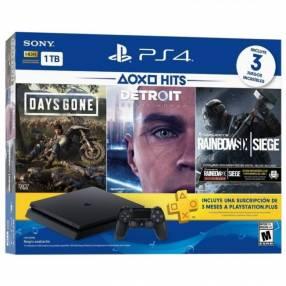 Consola Sony PlayStation 4 Slim 1TB HDR 2215B con 3 Juegos