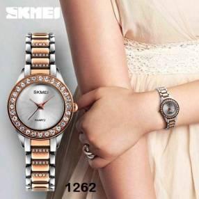 Reloj Skmei analógico para dama SKM1262