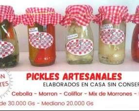 Pickles artesanales