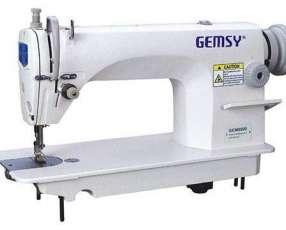 Recta industrial Gemsy GM8900 con mesa y motor convencional
