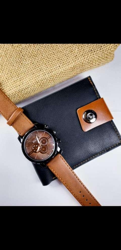 Reloj más billetera