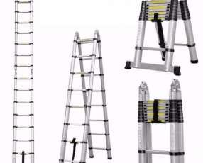 Escalera telescópica de aluminio 5 metros (TL30109)