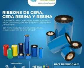 Cintas de impresion para impresora termica Ribbons