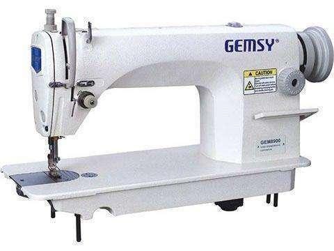 Recta industrial Gemsy GM8900 con mesa y motor convencional - 0