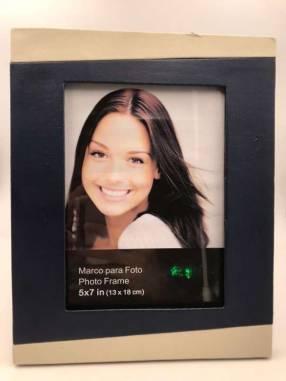 Porta retrato cuerina 13x18 cm