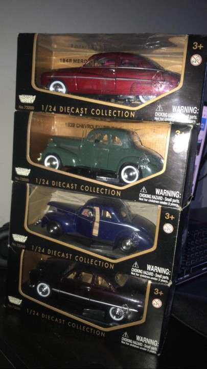 Autos Coleccionables Motor Max - Impecables (1/24)