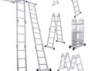 Escalera articulada multipropósito 3.40 m p/ andamios