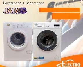 Lavarropas + secarropas JAM