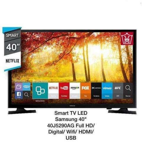 Smart TV LED Samsung de 40 pulgadas