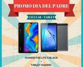 Huawei P30 + tablet