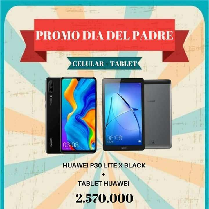 Huawei P30 + tablet - 0
