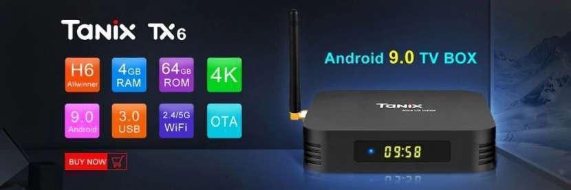 Smart tv Android 9 TX6 + IPTV gratis - 1