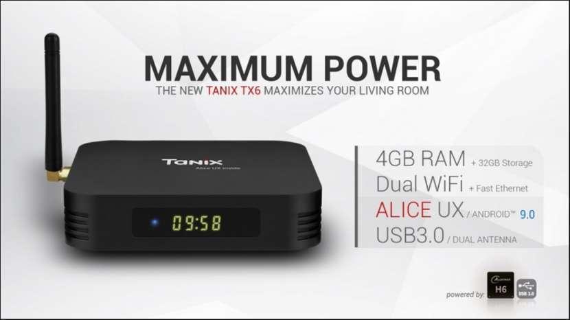 Smart tv Android 9 TX6 + IPTV gratis - 5