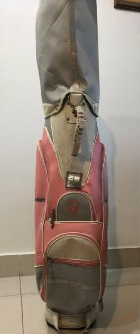 Articulos de golf - palos y bolsa taylor made