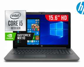 Notebook HP i5 MX110.