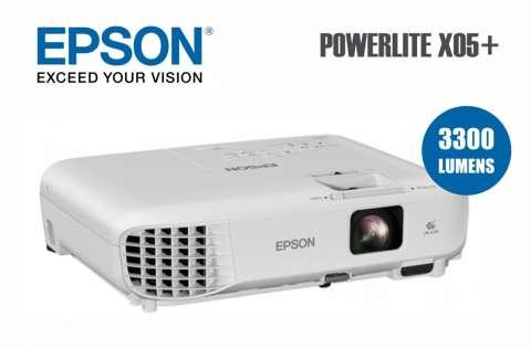 Proyector Epson PowerLite X05+