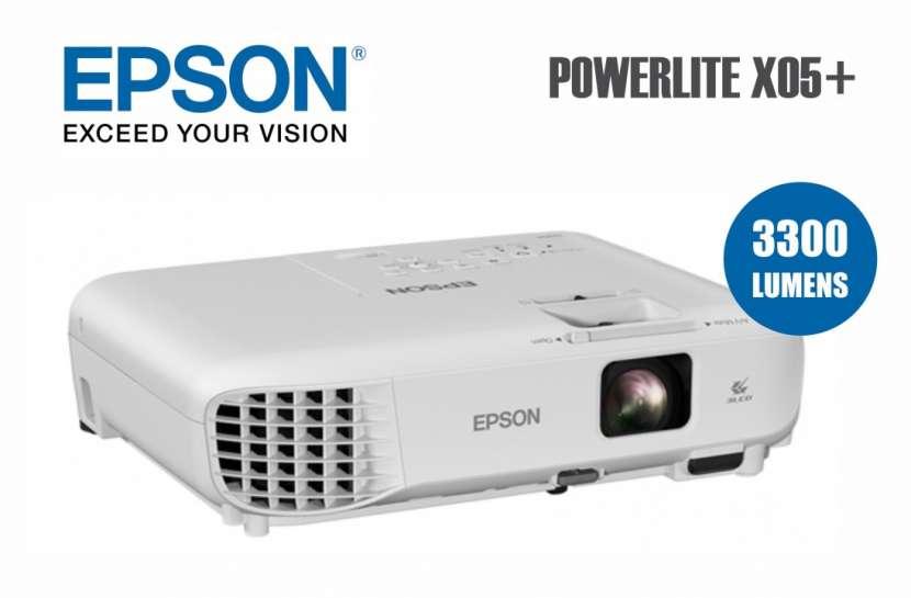 Proyector Epson PowerLite X05+ - 0