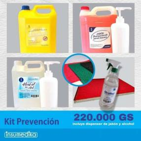 Kit higiene covid fase 3