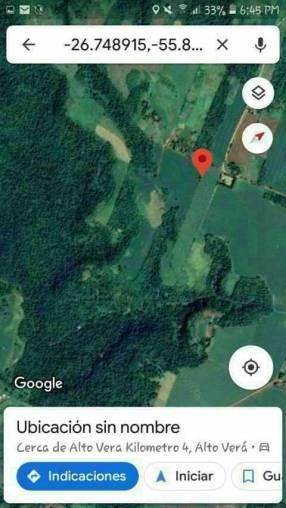 715 hectáreas en San Pedro de Ycuamandiyú