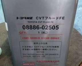 Aceite de 4l para caja cvt toyota original comprad