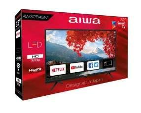 TV Smart Aiwa de 32 pulgadas HD Wi-Fi