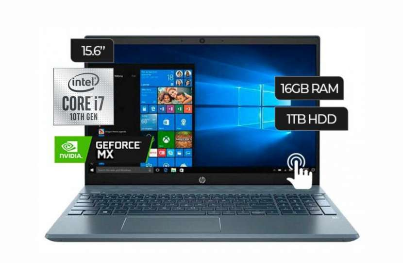 Notebook HP i7 FHD Touch - 0