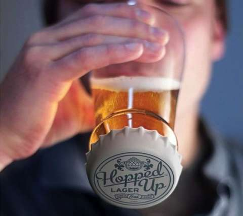 Vaso para cerveza Hopped Up Fred & Friends