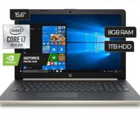 Notebook HP i7 MX130