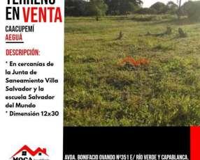 Terreno en Caacupemi MOC-0158
