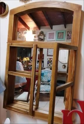 Espejo tipo ventana