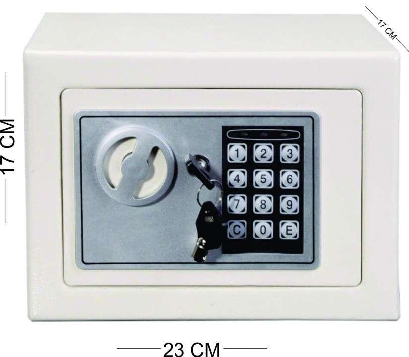 Caja fuerte,teclado digital blanca (hw49694bk) - 0