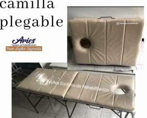 Camilla portatil para masajes plegable