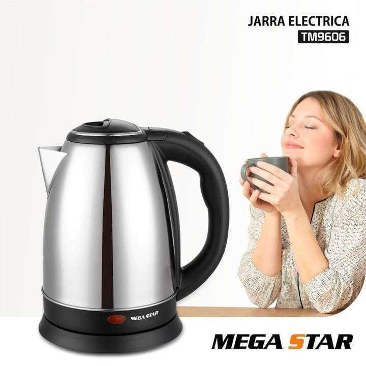 Jarra eléctrica Megastar de 2 Litros TM9606 - 0