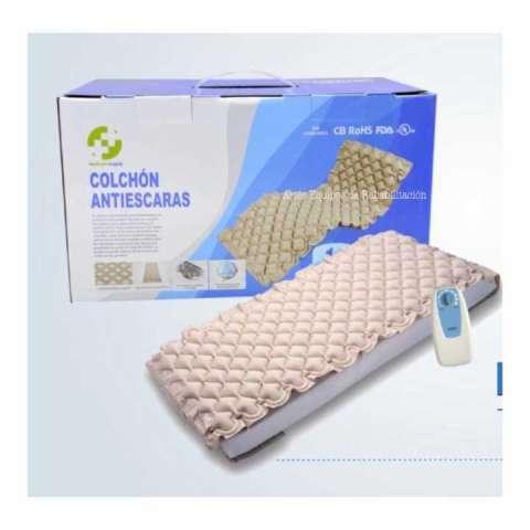 Colchón antiescaras con compresor regulable