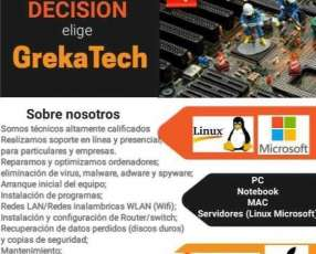 Servicios informáticos reparación de computadora y más