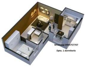 Departamento 1 dormitorio Bo Gral Diaz