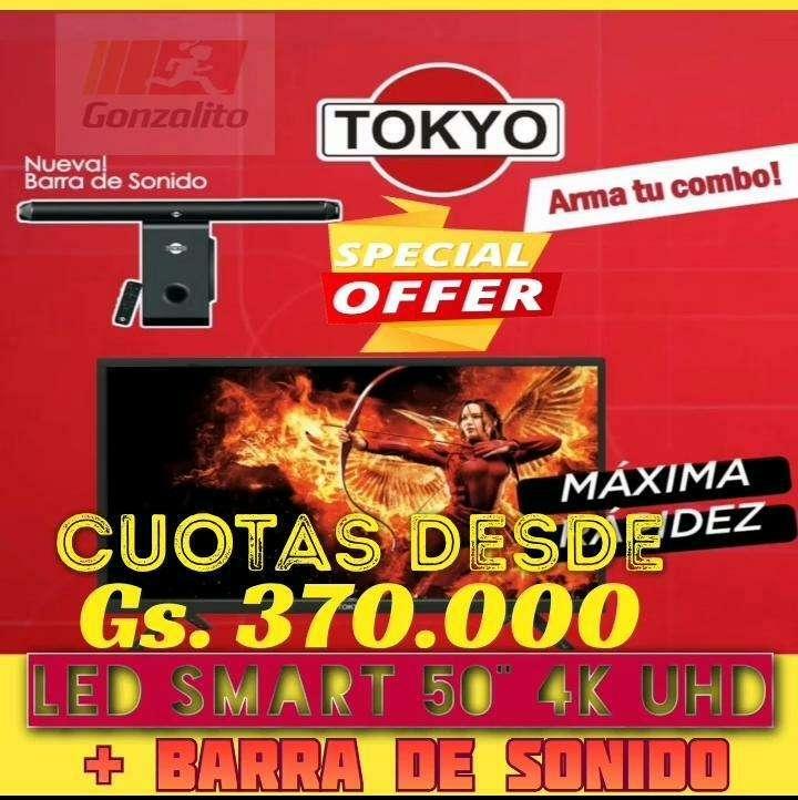 Tv Led tokyo 4k UHD - 0