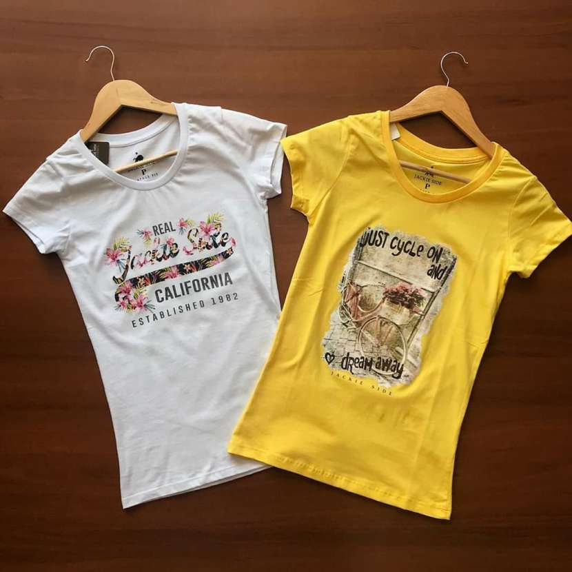 Remeras Jackie Side para damas - 6