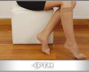 Media de compresión graduada para piernas cansadas y varices