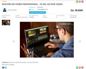 Edición de video profesional