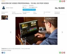 Edición de video profesional