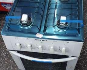 Cocina de 4 hornallas a gas