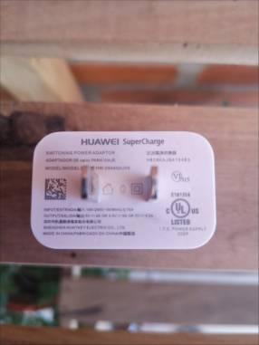Cargador de pared Huawei Supercharge